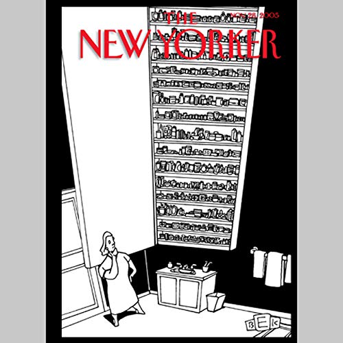 The New Yorker (Nov. 28, 2005)                   By:                                                                                                                                 Samantha Power,                                                                                        Jeffrey Toobin,                                                                                        Katherine Boo,                   and others                          Narrated by:                                                                                                                                 uncredited                      Length: 1 hr and 58 mins     Not rated yet     Overall 0.0