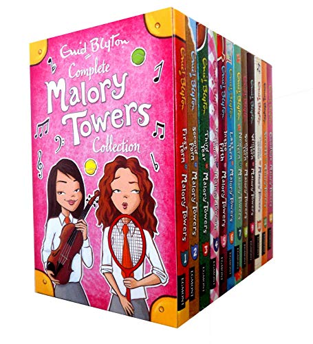 Malory Towers Collection - 12 Books, RRP 59.88 (First Term; Second Form; Thi...
