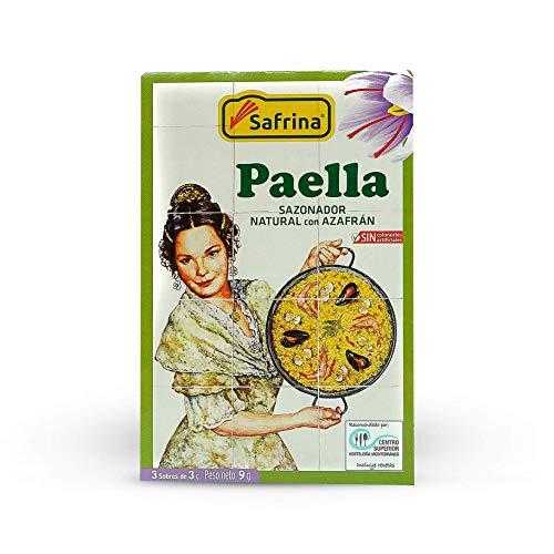 Insaporitore Naturale per Paella con Zafferano 9 gr.