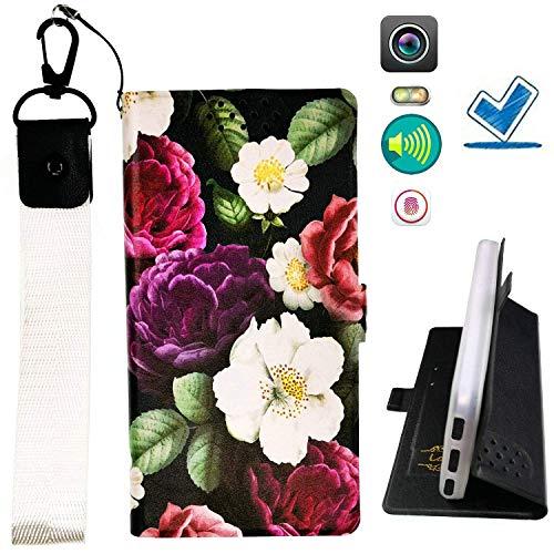 Custodia per Microsoft Nokia Lumia 540 Dual Sim Custodia Flip in Pelle PU + Cover Case in Silicone Fissa Protezione HUA ITHYJ