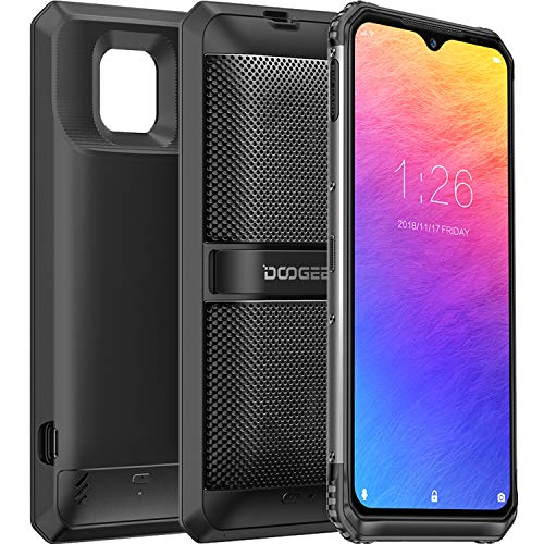 DOOGEE S95 Super Rugged Smartphones Unlocked (2020) Helio P90 48MP Triple Rear Camera 6GB RAM+128GB ROM 8650mAh(Battery Module+Speaker Module) IP68 Waterproof Dropproof Dust Proof 6.3' FHD+ NFC Phone