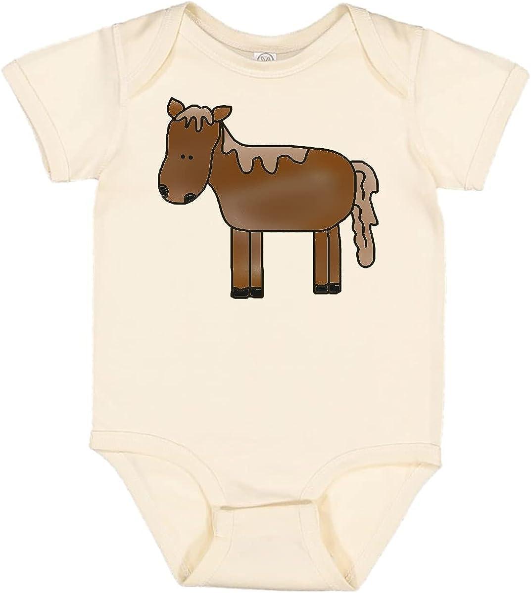 inktastic Horse Over item handling Infant Max 62% OFF Creeper