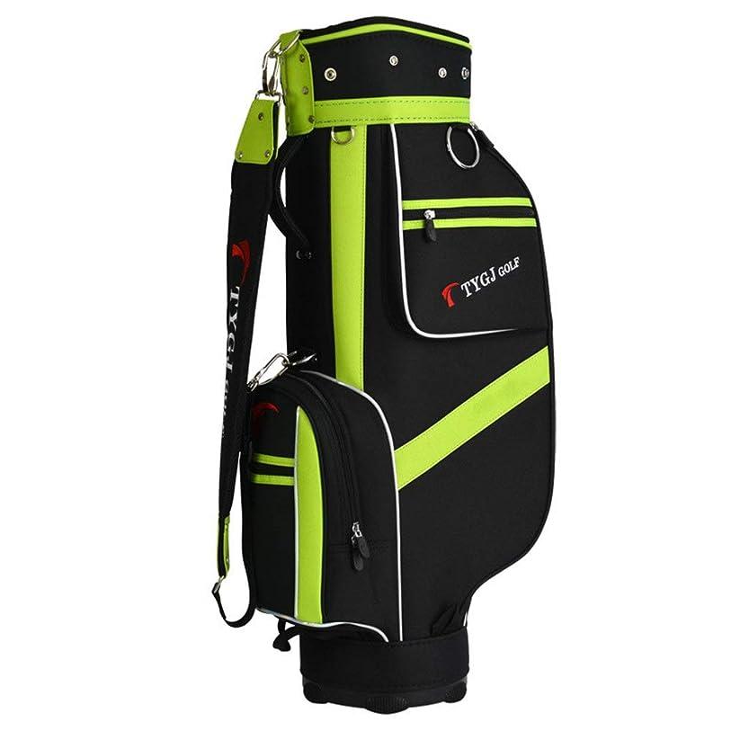 エネルギーパラメータ見落とすゴルフクラブバッグ メンズレディース防水ゴルフキャリーバッグ軽量ゴルフトラベルケース に対応 クラブ大人用ゴルフアクセサリーバッグ(5プランジャー穴付き) 超軽量、大容量、コンパクトな収納 (色 : One color, サイズ : 85×38×22.5cm)