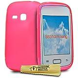 Accessory Master - Carcasa de silicona para Samsung Galaxy Young S6310