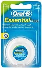 Oral-B Essential Floss Mint Waxed 50, Medium