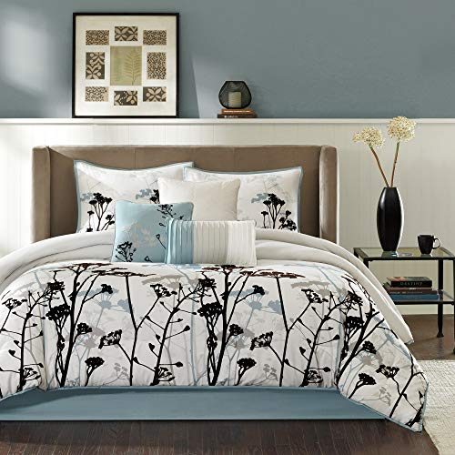 Madison Park Matilda King Size Bed Comforter Set Bed in A...