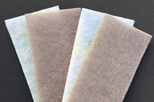 Ersatzfilter LFK2 für Luftreiniger Küche LRK2 (für 2x Wechseln) - filtert das Fett aus der Luft - gegen Geruch, Bakterien, Schimmel, Fett