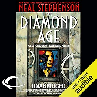 The Diamond Age audiobook cover art