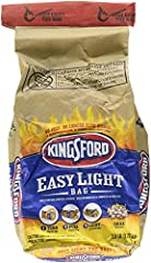 One 2.8 pound Easy Light bag of Charcoal Briquets No lighter fluid or prep needed Sure Fire Grooves for quick and easy lighting Made with natural ingredients and real wood Delivers an authentic smoky flavor