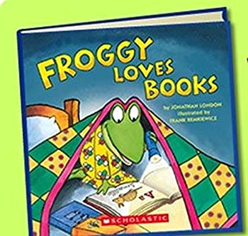 Froggy Loves Books - Book  of the Froggy