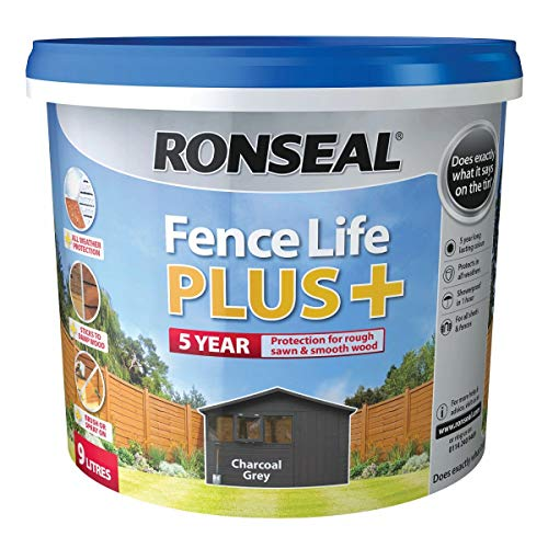 Ronseal 9L Charcoal Grey Zaunfarbe Life...