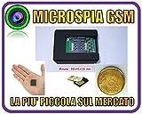 Microspia Cimice GSM miniaturizzata Originale - VOX attivazione Vocale Audio Ottimo