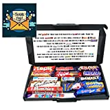 15 Piece Thank You Teacher Personalised Chocolate Poem Gift Box (Thank You - Letter)