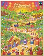Divine Fairtrade Chocolate Advent Christmas Calendar 85G