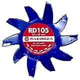 MACROZA Fresa RD105, 30mm x 30mm, para rozadora de...
