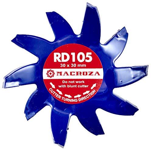 MACROZA Fresa RD105, 30mm x 30mm, para rozadora de pared MACROZA