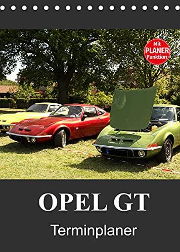 Opel GT Terminplaner (Tischkalender 2022 DIN A5 hoch)