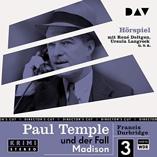 Paul Temple und der Fall Madison. Original-Radio-Fassung cover art