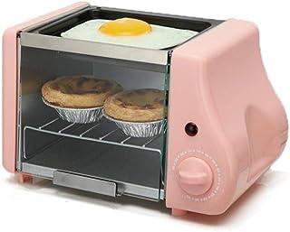 Máquina De PanCafé Eléctrico 3 En 1 Horno Parrilla Pan Tostadora Sandwich Hornear Multicocina Home Grill A