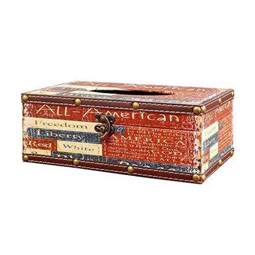Hmy Retro Art tissue-kast-huiskamer-bar-tafelblad versiering