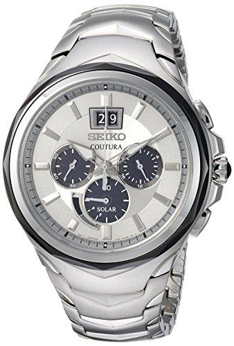 Seiko Reloj Analógico para Hombre de Cuarzo con Correa en Acero Inoxidable SSC627P9