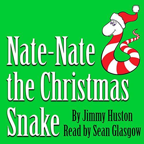 Nate-Nate the Christmas Snake audiobook cover art