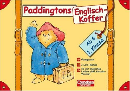 Englisch lernen mit Paddington: 1. Schuljahr, ab 6 Jahre - Paddingtons Englisch-Koffer: Komplett-Koffer. Mit CD, Lernmemo und Übungsbuch