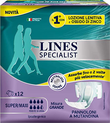 LINES SPECIALIST Pannolone a Mutandina, Taglia...