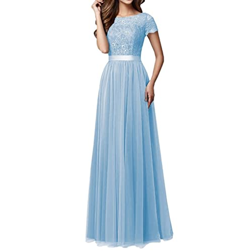 0df16b7f28a Kevins Bridal Women s Lace Bridesmaid Dresses 2017 Tulle Long Prom Evening  Dress