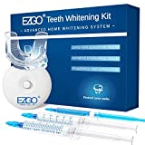 Teeth Whitening Kit, Fast Result Teeth Whitener with Peroxide Free Teeth Whitening Gel