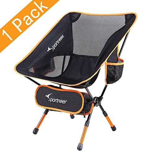Sportneer Portable Leichtgewichtig Falten Wandern Picknick Camping Stuhl