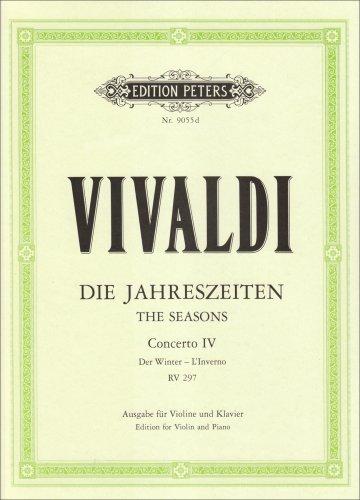 Die vier Jahreszeiten: Konzert für Violine, Streicher und Basso continuo f-Moll op. 8 Nr. 4 RV 297