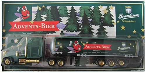 Schweinfurter Brauhaus Nr.18 - Advents Bier - Freightliner - US Sattelzug mit Tankauflieger