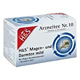H&S Magen- und Darmtee mild Arzneitee Nr. 10, 20 St. Filterbeutel