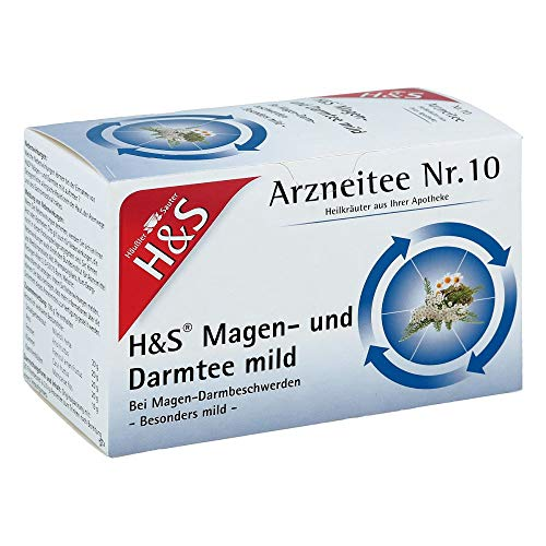H&S Magen- und Darmtee mild, 20X2.0 g