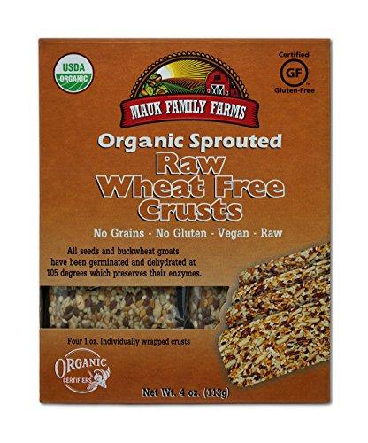 Mauk Family Farms Organic Raw Crusts, Wheat Free, 4 Ounce