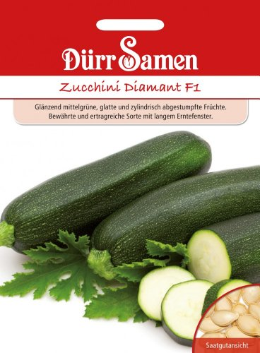 Dürr Samen 0539 Zucchini Diamant F1 (Zucchinisamen)