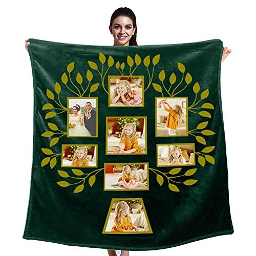 Customized Family Tree Blanket