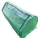 Lw Greenhouses Serre Tunnel,Mini Serra, in PVC 70.8' × 35.8' × 37.4' Serre in Plastica Serra da Giardino Serra da Giardino Telaio in Tubo d'Acciaio Verniciato A Polvere Presenta