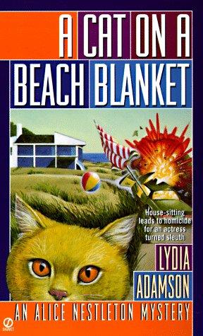 A Cat on a Beach Blanket