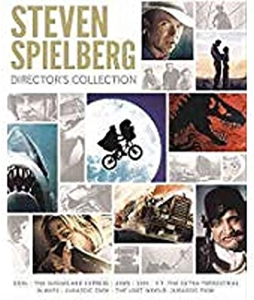 Steven Spielberg Director's Collection: (Jaws / E.T. The Extra-Terrestrial / Jurassic Park / The Lost World: Jurassic Park / Duel / and more)