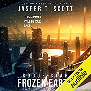 Frozen Earth audiobook cover art