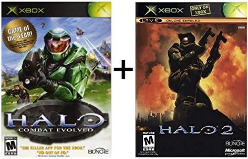 Halo 1 and Halo 2 Bundle (Xbox and Xbox 360 Compatible)