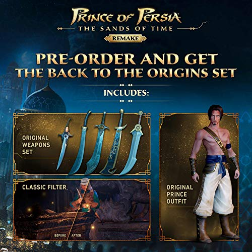 51E1A6rSooL - Prince of Persia: The Sands of Time Remake - PlayStation 4 Standard Edition