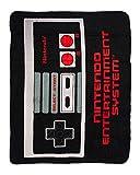 bioWorld Nintendo Retro NES Controller Throw Blanket, 48' x 60'