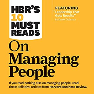 HBR's 10 Must Reads on Managing People cover art