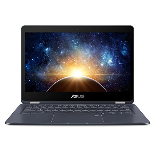 "ASUS NovaGo 13.3"" Unlocked Gigabit LTE Wireless Touchscreen 2-in-1 Laptop, Qualcomm Snapdragon 835 2.6GHz, 6GB RAM, 128GB Storage, 22Hr Battery, Windows 10 - TP370QL-6G128G, Star Grey"