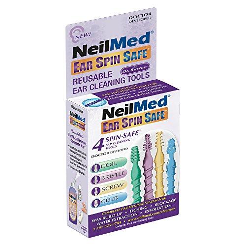 NeilMed Ear Spin Safe - Complete Ear Hygiene System