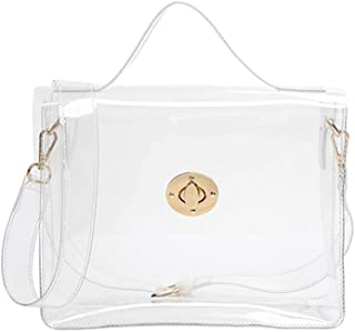 1995ade3991 FANCY LOVE Classy Waterprof Clear Tote Beach Shoulder Crossbody Bag
