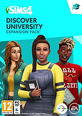 The Sims 4 - Discover University [Expension Pack 8] Standard | PC Code - Origin